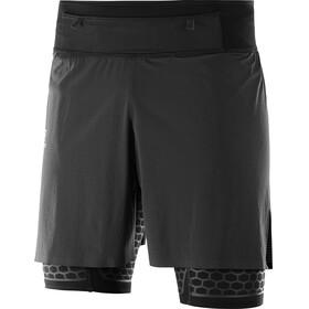 Salomon Exo Hardloop Shorts Heren zwart